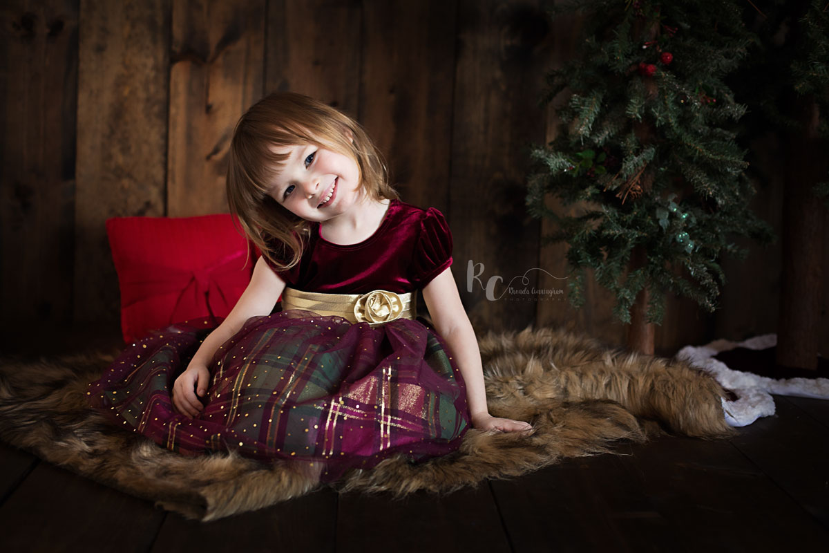 Christmas Mini session by Lexington, Ky Family Photographer